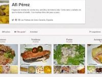 Página de Pinterest de El Rincón de Afi