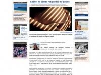 Página de noticia de Diario Atlántida