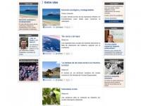 Página de sección de Diario Atlántida