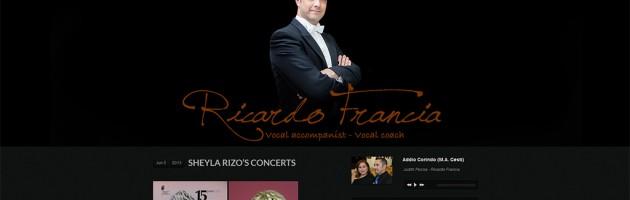 Portada de Ricardo Francia