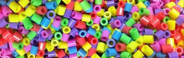 Puñado de hama beads