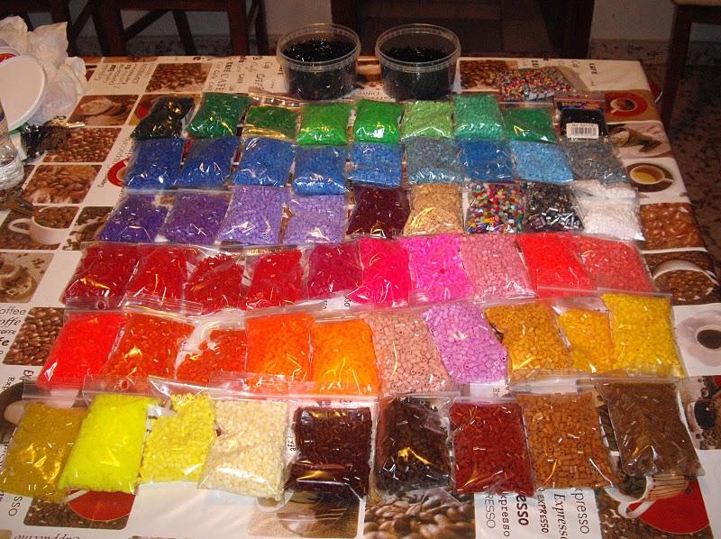 Paquetes de hama beads