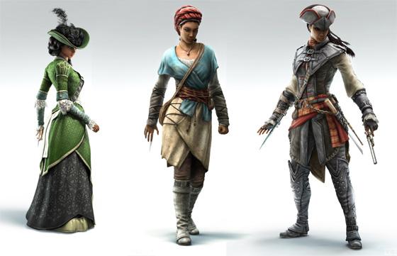 Los trajes de Aveline